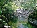 Gentle waterfall on Langstrath Beck - geograph.org.uk - 878727.jpg
