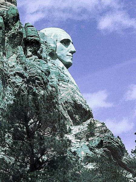 File:George, head of Mount Rushmore.jpg