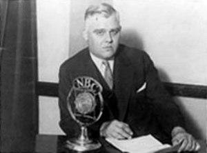 George E. Akerson - Image: George Akerson NBC
