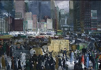 American Realism - George Bellows, New York (1911)