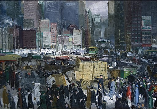 """New York"" by George Bellows"