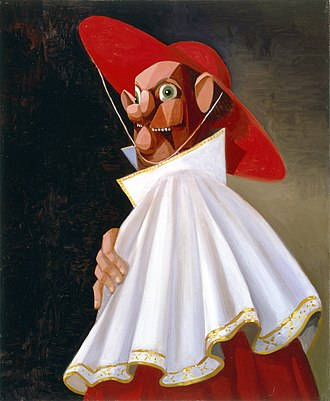 George Condo - Condo's The Cracked Cardinal (2001)