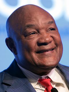 George Foreman American professional boxer, ordained Baptist minister, author and entrepreneur