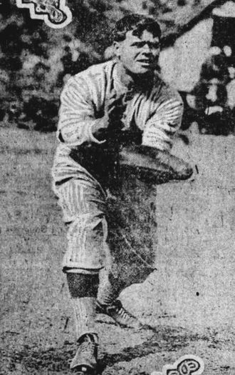 George Gibson (baseball) - Gibson in 1916.