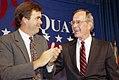 George H. W. Bush and Jeb Bush in 1992.jpg