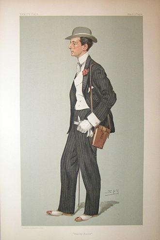 George Lambton - Vanity Fair caricature of Lambton (1904)