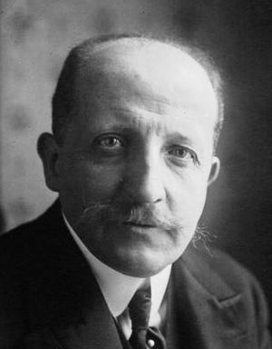 Georges Theunis - Image: Georges Theunis 1921