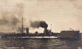 Battle off Texel - Image: German Torpedo Boat