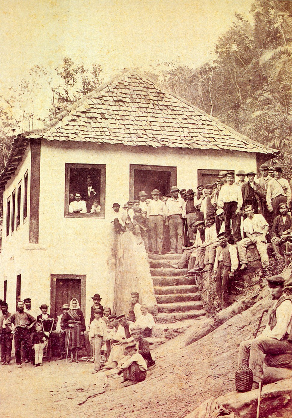 Germans and luxembourgers in brazil 1875