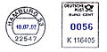 Germany stamp type RB25 black blue.jpg