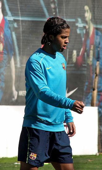 Giovani dos Santos - Dos Santos with Barcelona in 2008