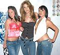 Girl, Kayla Paige, Bianca Dagger at Evil Angel Party 2.jpg