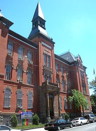 Girls' High School - Girls High School building on Nostrand Avenue