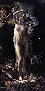 Girodet-Trioson - Mademoiselle Lange as Venus, 1798