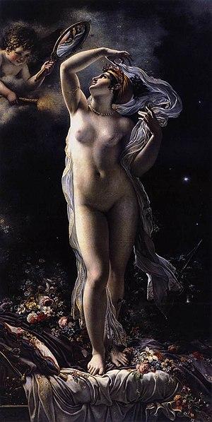 Anne-Louis Girodet de Roussy-Trioson - Mademoiselle Lange as Venus, 1798, Museum der bildenden Künste, Leipzig