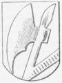 Gisselfeld Birks våben 1574.png