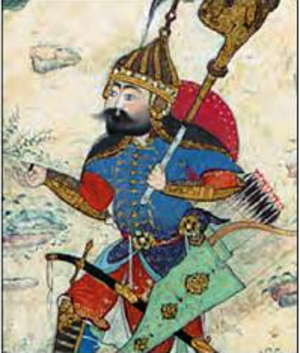 Giv (Shahnameh) - Giv in the Shahnameh of Shah Tahmasp