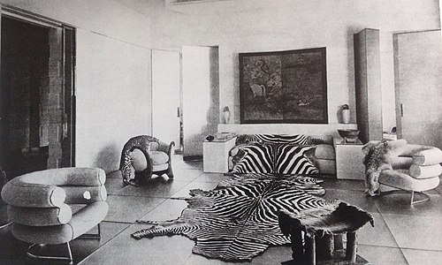 The Glass Salon, Designed For Suzanne Talbot By Paul Ruaud, With Furniture  By Eileen Gray (1932)
