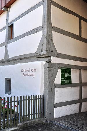 Jettying - An example of a hewn jetty in Glattfelden, Switzerland