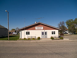 Glenfield Community Center - Glenfield, North Dakota 10-14-2008.jpg
