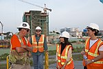Gloria Steele visits the dioxin remediation site in Danang Airport (29902312674).jpg