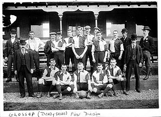 Glossop North End A.F.C. - Glossop team of 1899–1900