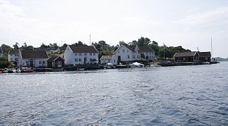 Gamle Hellesund Outport in Southern Norway, Norway