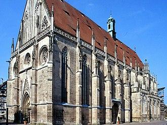 Heinrich Parler - Holy Cross Minster, Schwäbisch Gmünd, Germany. Masterpiece of Heinrich Parler.