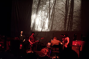 Godspeed You! Black Emperor discography - Image: Godspeed You! Black Emperor Oct 2012 Boston 01