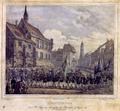 Goettingen - Kirchenzug der Studenten anlaesslich des Universitaetsjubilaeums (1837).png