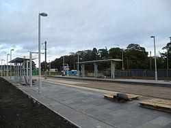 Gogarburn tram stop in the making (geograph 3176727).jpg