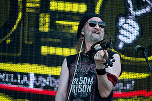 Gogol Bordello - Sergey Ryabtsev in 2012.