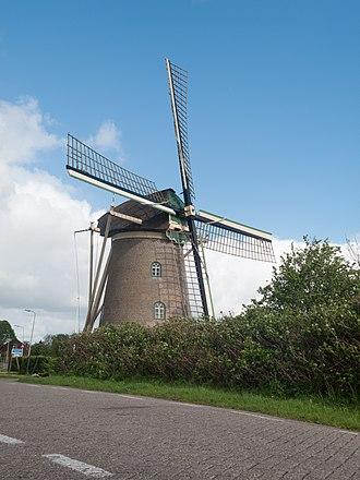 Goidschalxoord - Windmill: de molen van Goidschalxoord