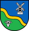 Coat of arms of Goldbæk (Sydslesvig)