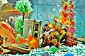 Golden fish in a tank - panoramio.jpg