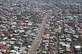 Goma, Nord Kivu, RD Congo - Vue aérienne partielle de la ville de Goma. (23720614532).jpg