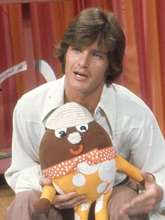 Gordon Thomson (actor) - Thomson on the set of Polka Dot Door in 1971