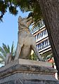 Gos d'Alcibíades, parc de Canalejas d'Alacant.JPG