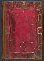 Gospel-book with added Cornish records of manumissions ('The Bodmin Gospels' or 'St Petroc Gospels') - Upper cover (Add Ms 9381).jpg