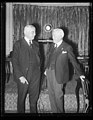 Gov. Albert C. Ritchie of Maryland and John W. Davis of West Virginia talking things over.jpg