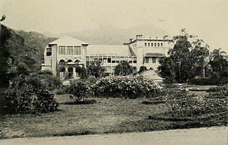 Port of Spain - Government House, Port of Spain, 1914