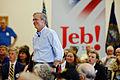 Governor of Florida Jeb Bush at TurboCam, Barrington, NH 1 on August 17th by Michael Vadon.jpg