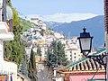 Granada. Vistes a Sierra Nevada Cuesta del Realejo - panoramio.jpg