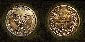 Grand Challenge Cup - The Prize Medal of the 1937 Grand Challenge Cup