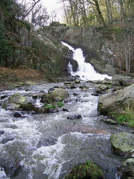 Grande cascade de Mortain, entre Mortain et Le Neufbourg, La Manche, Normandie, France