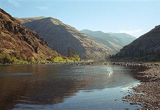 Joseph Canyon - Image: Grande ronde river