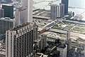 Grant Park from Sears Tower in 1981.jpg