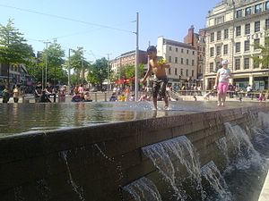 Old Market Square - Image: Great Days out in Nottingham