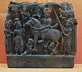 Great Departure - Schist - ca 2nd Century CE - Gandhara - Loriyan Tangai - ACCN 5043 - Indian Museum - Kolkata 2016-03-06 1480.JPG