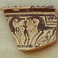 Greek geometric pottery, 8th century BC, sacrifice horses, AM Argos, Argm06.jpg